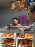 Chatting about EV Life at the Donut King in King City, Ca